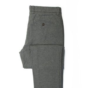 Brooks Brothers Red Fleece Heathered Grey Stretch Cotton Pants